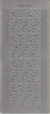 doodey dd6941 zilver  10 x 23 cm