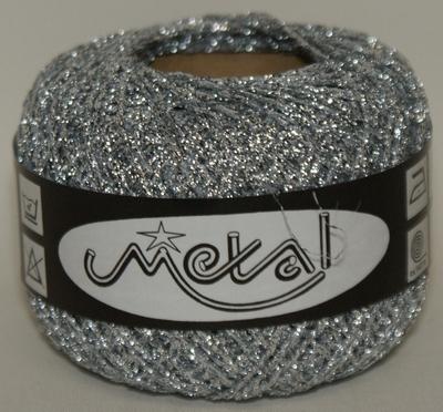 Zilver Metallic Haakgaren