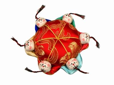 Chinese Speldenkussen groot  10 cm