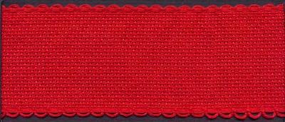 Aida band rood  Per Meter