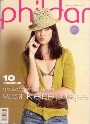 Phildar Breiboek Minizomercollectie  A4
