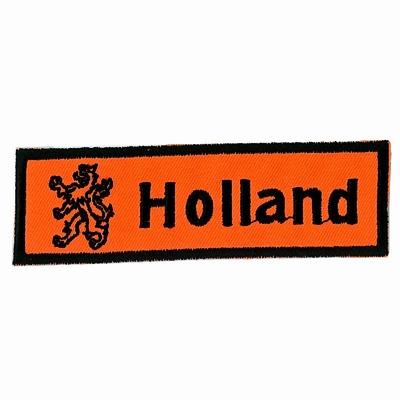 Applicatie Rechthoek Holland met Leeuw 30 x 100 mm