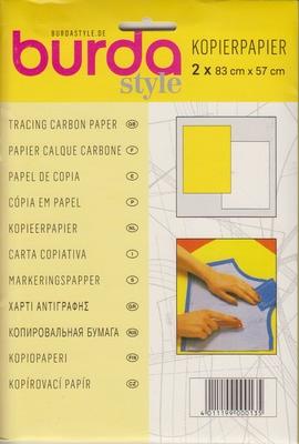Burda kopierpapier geel wit
