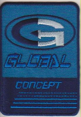 Applicatie Global concept 5,5x8cm