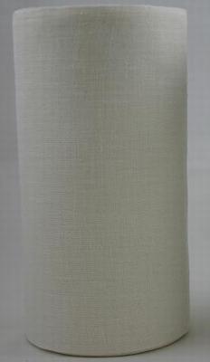 Linnen Borduurband - gebroken wit - breedte 20 cm  0,50 Meter