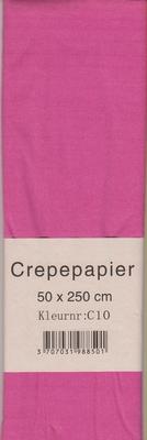 Crepepapier 50x250cm Fuchsia