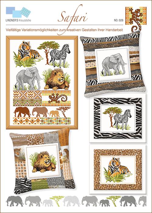 Lindner's borduurpatroon Safari