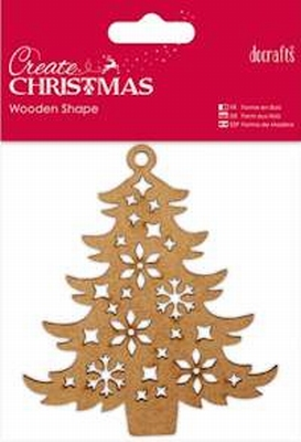 DC Wooden Shape Decorative Tree