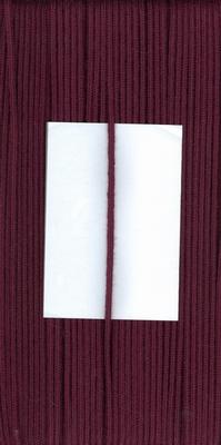 Capuchon koord 3mm Bordeaux Rood  1 meter