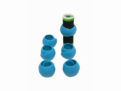Garenklos houder blauw  6 stuks