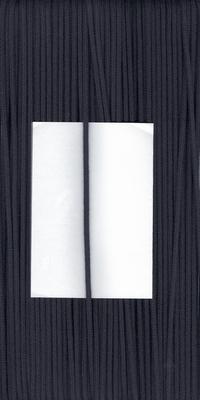 Capuchon koord 3mm Zwart  1 meter
