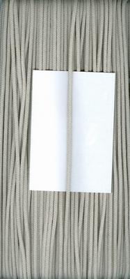 Capuchon koord 3mm Licht Grijs  1 meter