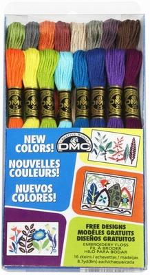 16 Nieuwe Kleuren DMC