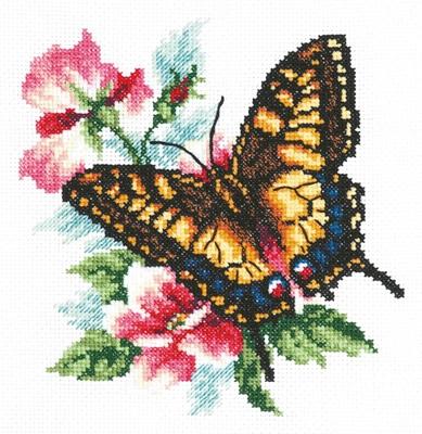 Borduurpakket Swallowtail butterfly - Chudo Igla