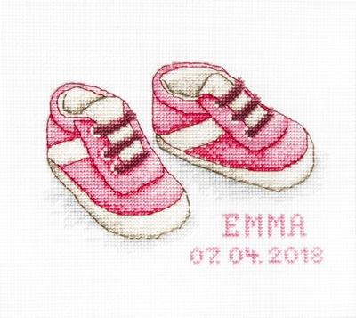 Borduurpakket Baby Shoes - Luca-S