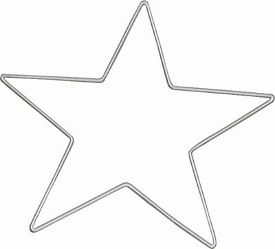 Draad-ster 25cm