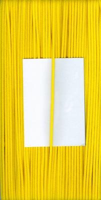 Capuchon koord 3mm Geel  1 meter