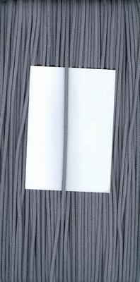 Capuchon koord 3mm Donker Grijs  1 meter