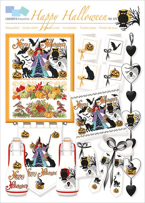 Lindner's borduurpatroon Halloween