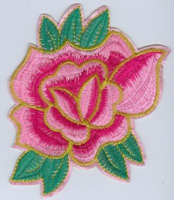 Applicatie Bloem rose