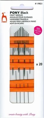 Pony Black Craft Needles