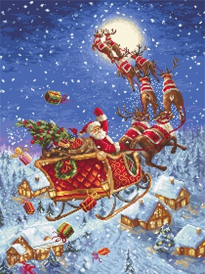 Borduurpakket The Reindeers on its Way!