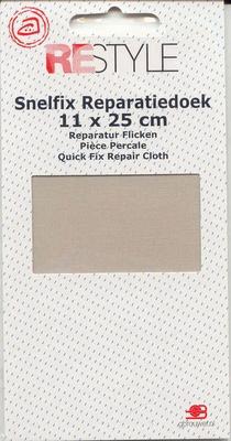 Reparatiedoek (ecru)  11 x 25 cm