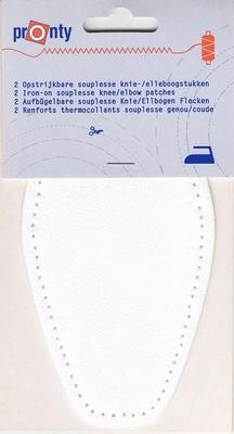 Elleboogstukken 8,5 x 17 cm  1 paar