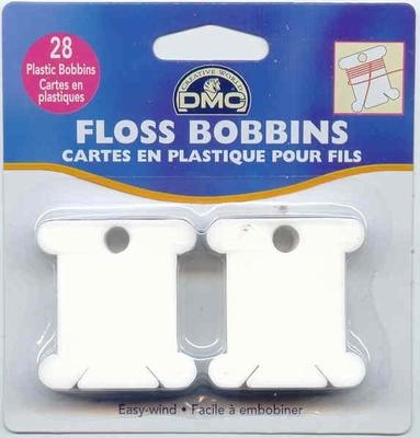 Plastic bobbins  30 stuks