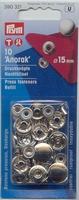 Anorak Naaivrijdrukker 15mm 10 stuks