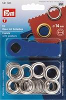 Ringen met schijven 14 mm 10 stuks