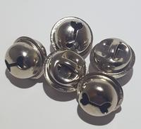 Kattebelletjes zilver 5 stuks