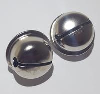 Kattebelletjes zilver 2 stuks