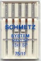 Schmetz HAx1 SP Dikte: 75 5 stuks