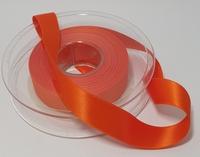 Oranje Satijnlint 1 meter