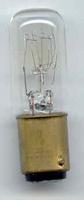 Bajonet lampje smal 220v 15w
