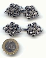 Noorse Sluiting zilver