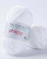 Phil Coton 3 - Blanc