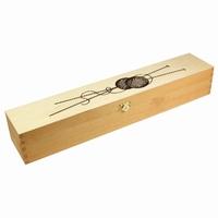 Breinaaldenbox hout licht