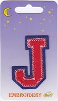 Applicatie J 6,5cm hoog opstrijkbaar