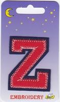 Applicatie Z 6,5cm hoog opstrijkbaar