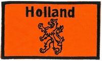 Applicatie Rechthoek Holland met Leeuw 96 x 58 mm