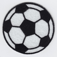 Applicatie Voetbal 6,5 cm