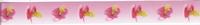 Lint met Baby speen rose 25mm 1 meter