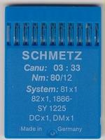 Schmetz 81x1 Dikte: 80/12 10 stuks