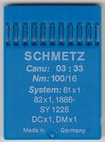 Schmetz 81x1 100/16 10 stuks
