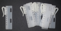 Gordijnhaak Verstelbaar 75 mm 10 stuks