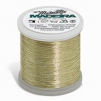 Madeira Metallic Light Gold 3 200 m