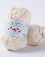 Phil Coton 3 - Ecru