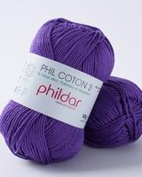 Phil Coton 3 - Violet